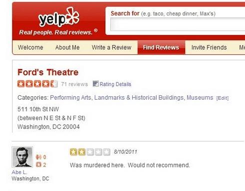 Random Funniest Yelp Reviews