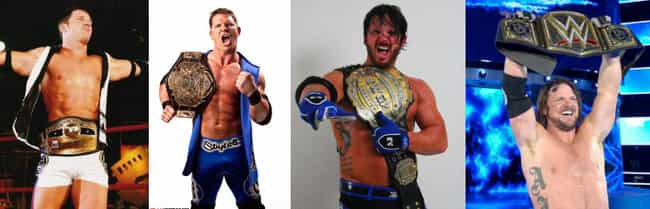 He's the Only Man to Be NW... is listed (or ranked) 1 on the list 5 Things You Should Know About AJ Styles