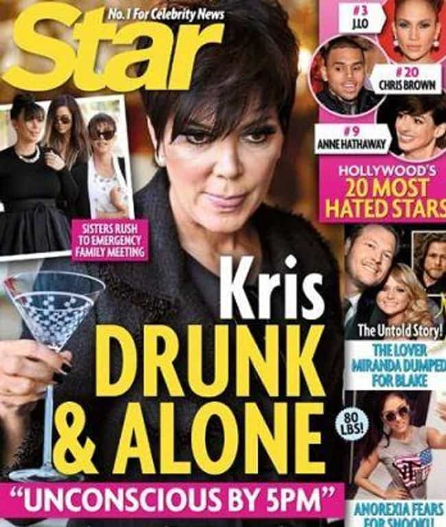 They Write Through Their Sourc... is listed (or ranked) 4 on the list 13 Weird Tricks Tabloids Use to Not Get Sued by Celebrities