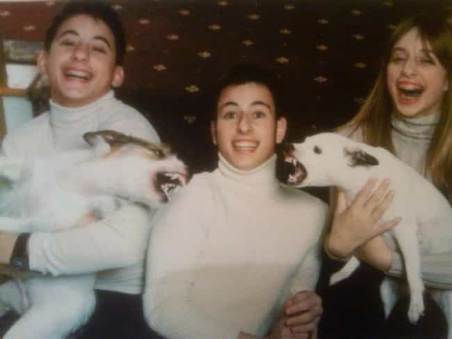 Family Feud is listed (or ranked) 2 on the list 27 Hilarious Times Pets Ruined Family Photos