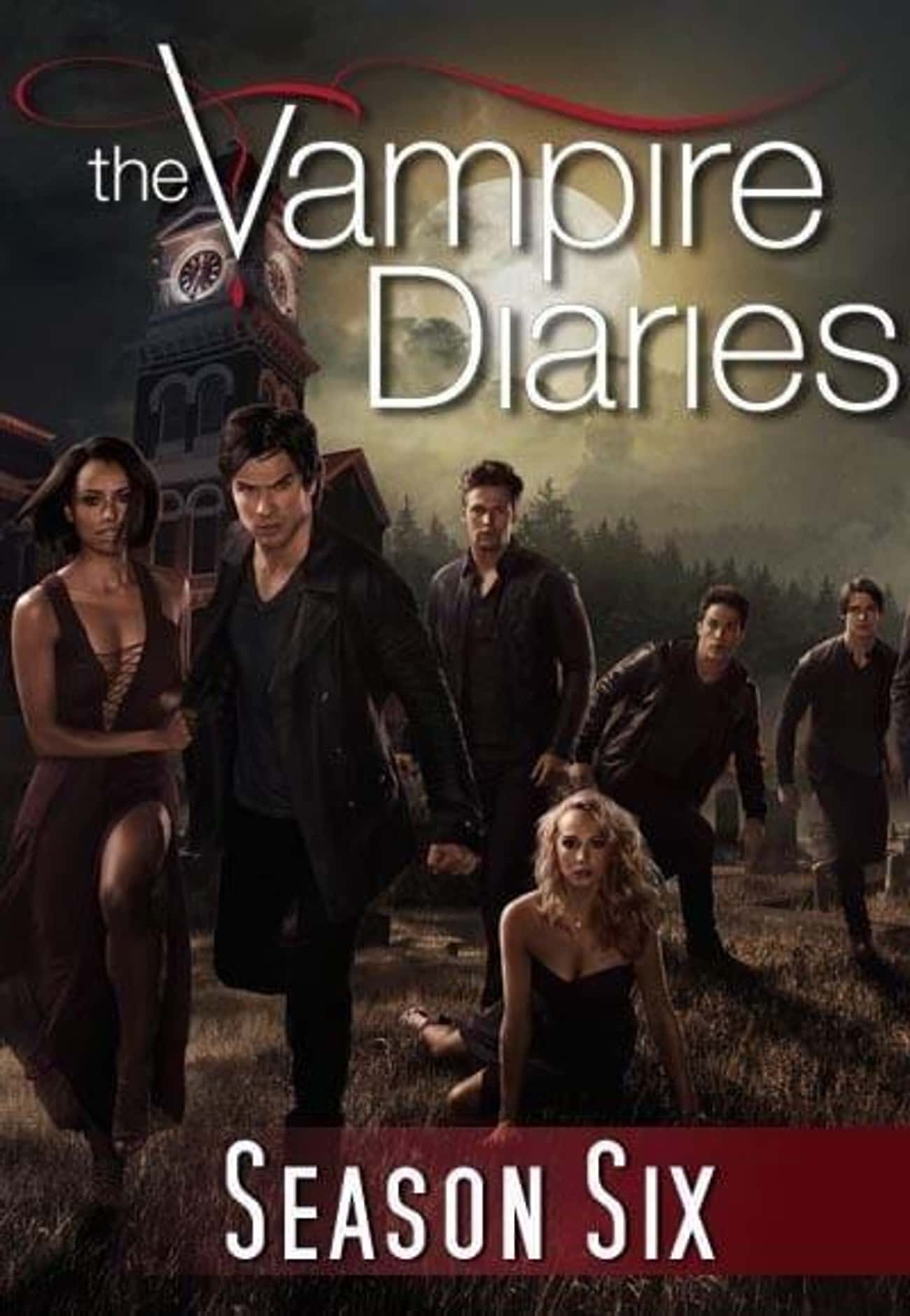 The Vampire Diaries - Season 6 is listed (or ranked) 3 on the list The Best Seasons of 'The Vampire Diaries'