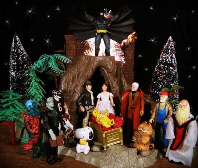 The Dark Manger is listed (or ranked) 2 on the list Pop Culture Nativity Scenes That Are Way Cooler Than Normal Ones