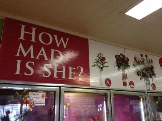 Flower Power is listed (or ranked) 2 on the list 25 Of The Most Brutally Honest Signs Ever