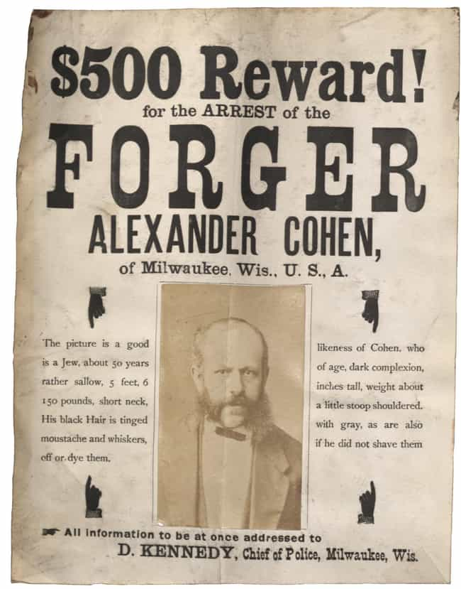 $500 Reward! (Year Unknown) is listed (or ranked) 2 on the list 20 Real Wanted Posters for Old West Outlaws