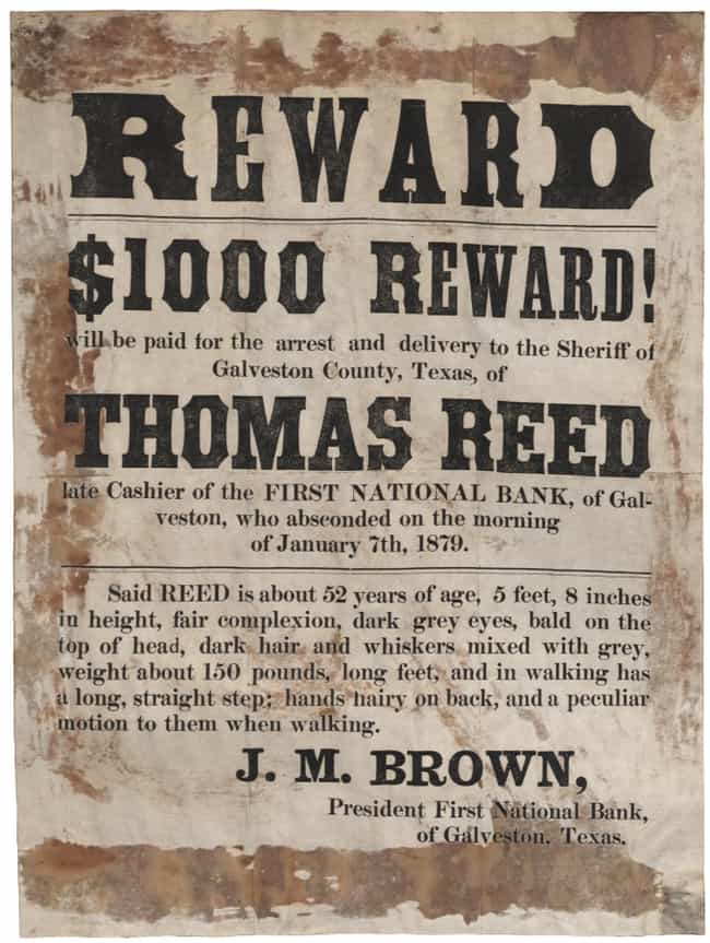 20 Real Wanted Posters for Old West Outlaws - 🍀ViraLuck