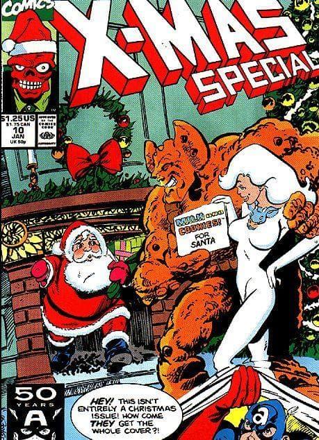 Random Awesome Christmas Superhero Comics You Never Knew Existed