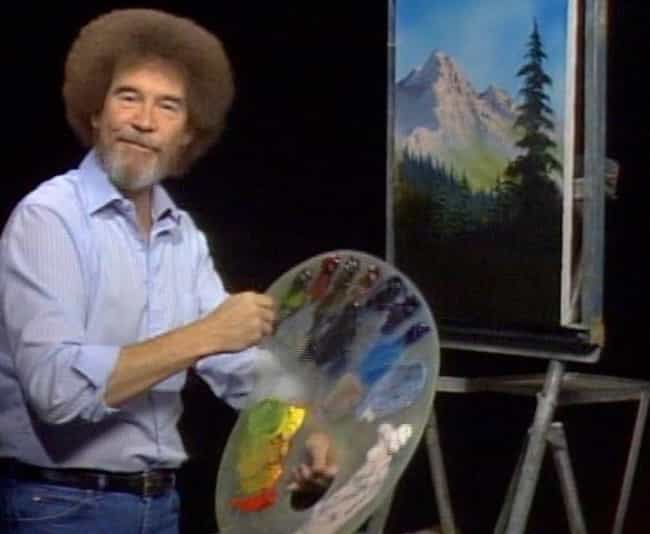 He Was A Sergeant In The Air F... is listed (or ranked) 3 on the list 12 Weird Things You Didn't Know About Bob Ross