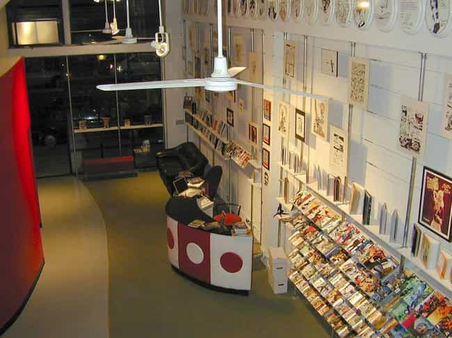 Isotope, The Comic Book Lounge... is listed (or ranked) 2 on the list 20+ Awesome Comic Book Hangouts Across The US