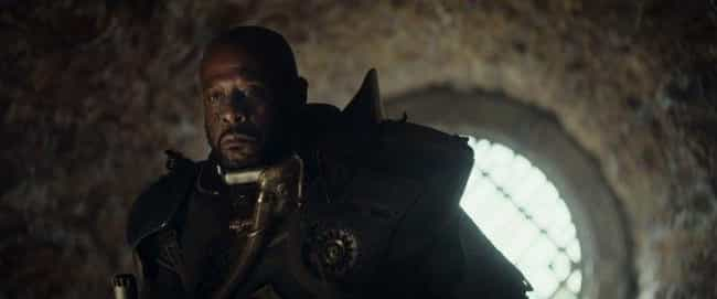 Saw Gerrera Makes an Appearanc... is listed (or ranked) 1 on the list All the References to Other Star Wars Films in Rogue One