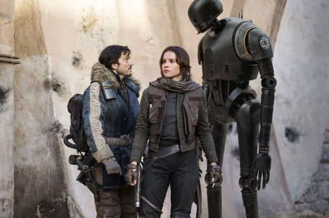 The Whills Are Briefly Mention... is listed (or ranked) 3 on the list All the References to Other Star Wars Films in Rogue One