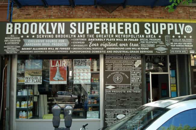 Brooklyn Superhero Suppl... is listed (or ranked) 4 on the list 13 Landmarks Every True Comic Book Fan Should Visit
