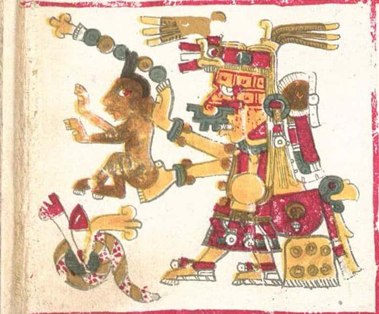 Xochiquetzal Was Carried To The Underworld And Brutally Raped