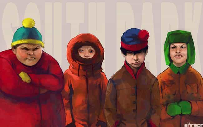 Cartman Looks Appropriately An... is listed (or ranked) 3 on the list 19 Examples of South Park Characters Drawn Weirdly Realistically