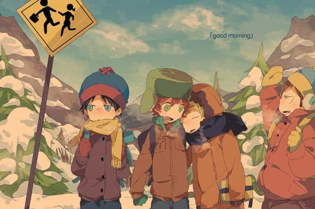 Should They Be This Cute... is listed (or ranked) 8 on the list 19 Examples of South Park Characters Drawn Weirdly Realistically