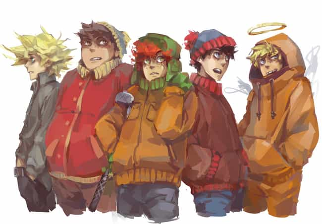 Even Butters Got Into Th... is listed (or ranked) 7 on the list 19 Examples of South Park Characters Drawn Weirdly Realistically