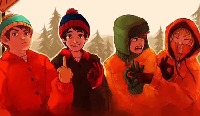 Wow, All Five Fingers! ... is listed (or ranked) 6 on the list 19 Examples of South Park Characters Drawn Weirdly Realistically