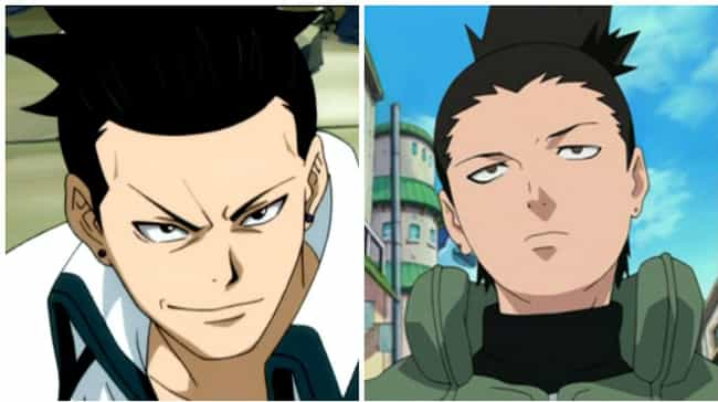 Kageyama from Fairy Tail and S... is listed (or ranked) 3 on the list 16 Anime Characters Who Could Be Long Lost Twins
