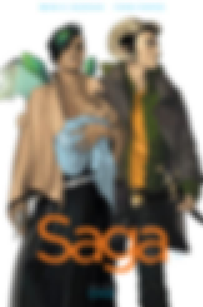 Saga is listed (or ranked) 2 on the list One-Shot Comics and Graphic Novels to Give to Friends Who Don't Read Comics
