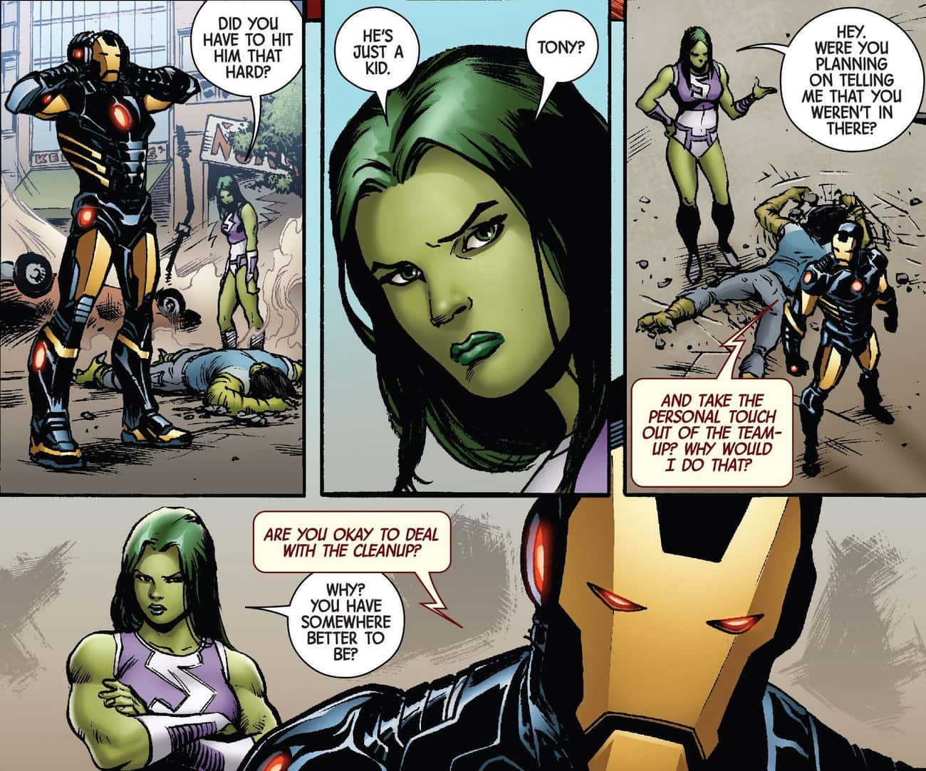 He Treats His Teammates Horrib is listed (or ranked) 3 on the list 14 Reasons Why Iron Man Is The Most Overrated Avenger