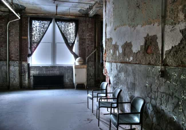 The Moans of the Infirm ... is listed (or ranked) 4 on the list 7 Eerie Paranormal Happenings in Old Mental Institutions