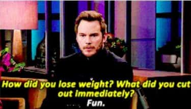 The No Fun Zone is listed (or ranked) 2 on the list 28 Chris Pratt Quotes That Make You Fall in Love With Him All Over Again