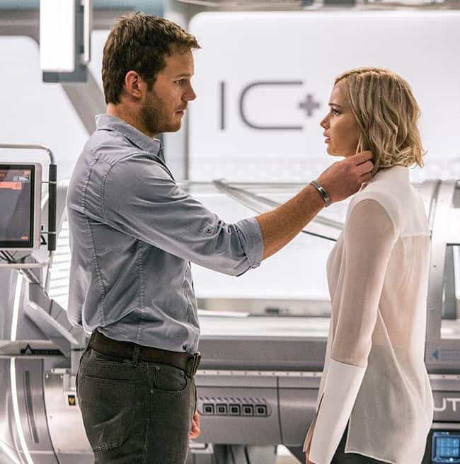 Something's Wrong is listed (or ranked) 4 on the list Passengers Movie Quotes