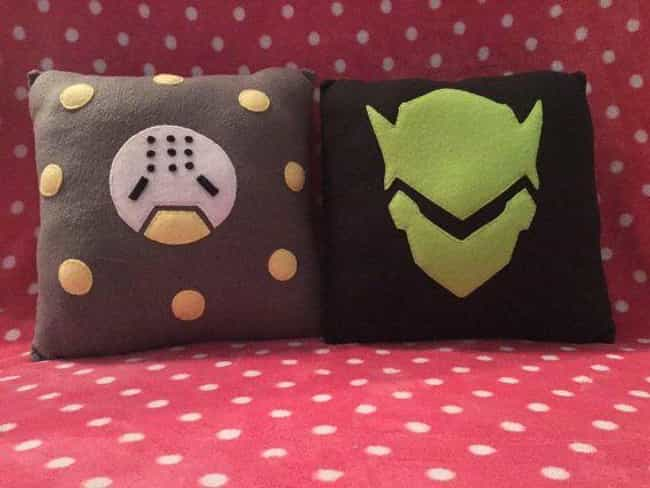 Genji and Zenyatta Pillo... is listed (or ranked) 4 on the list Perfect and Inexpensive Gifts for Overwatch Fans