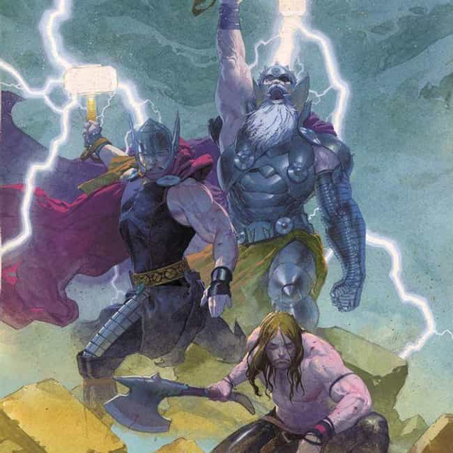 In The Future, He's A One-... is listed (or ranked) 3 on the list Why Thor's Comic Book Life Has Become Unrecognizable Over the Past Five Years