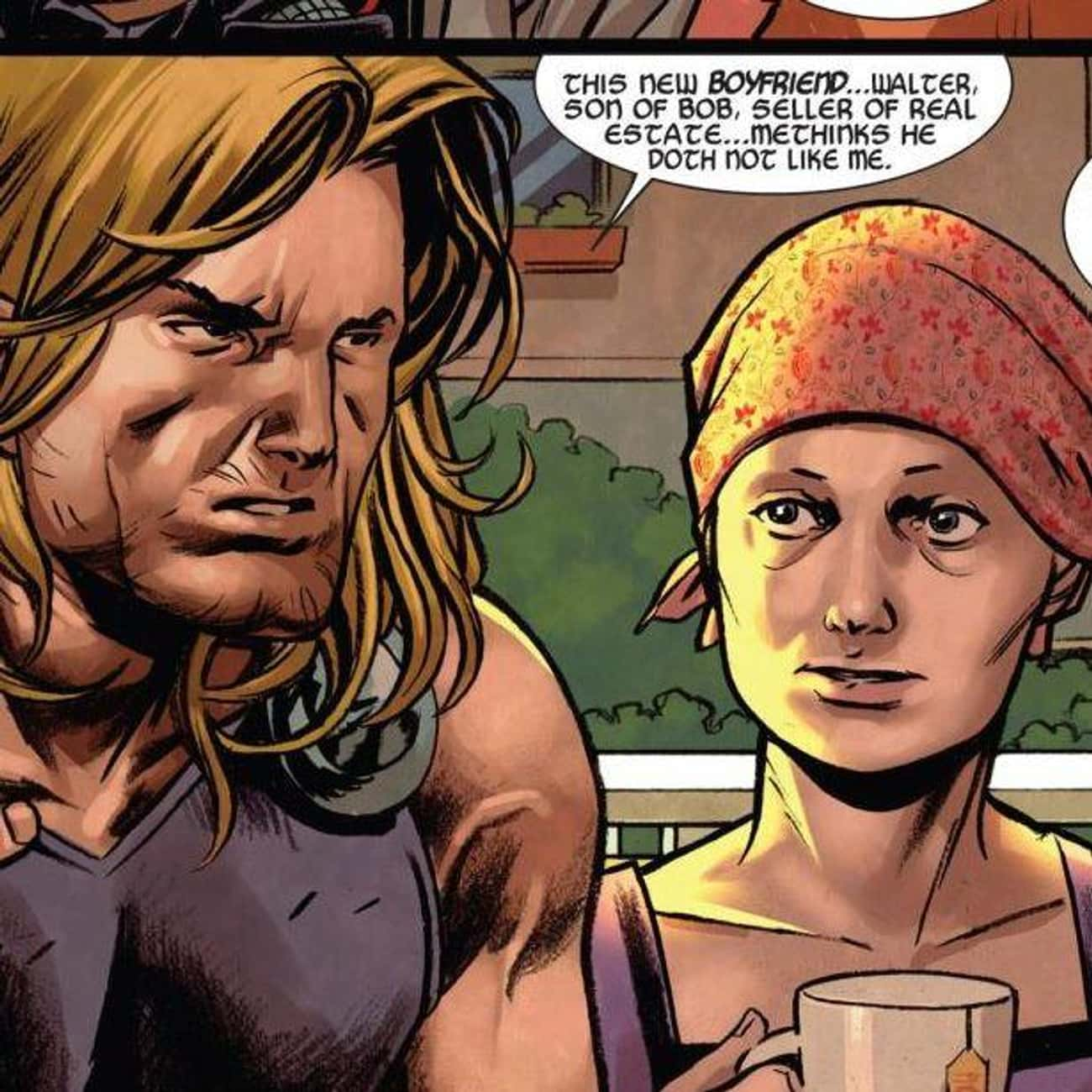 Jane Foster Had Cancer is listed (or ranked) 3 on the list Why Thor's Comic Book Life Has Become Unrecognizable Over the Past Five Years
