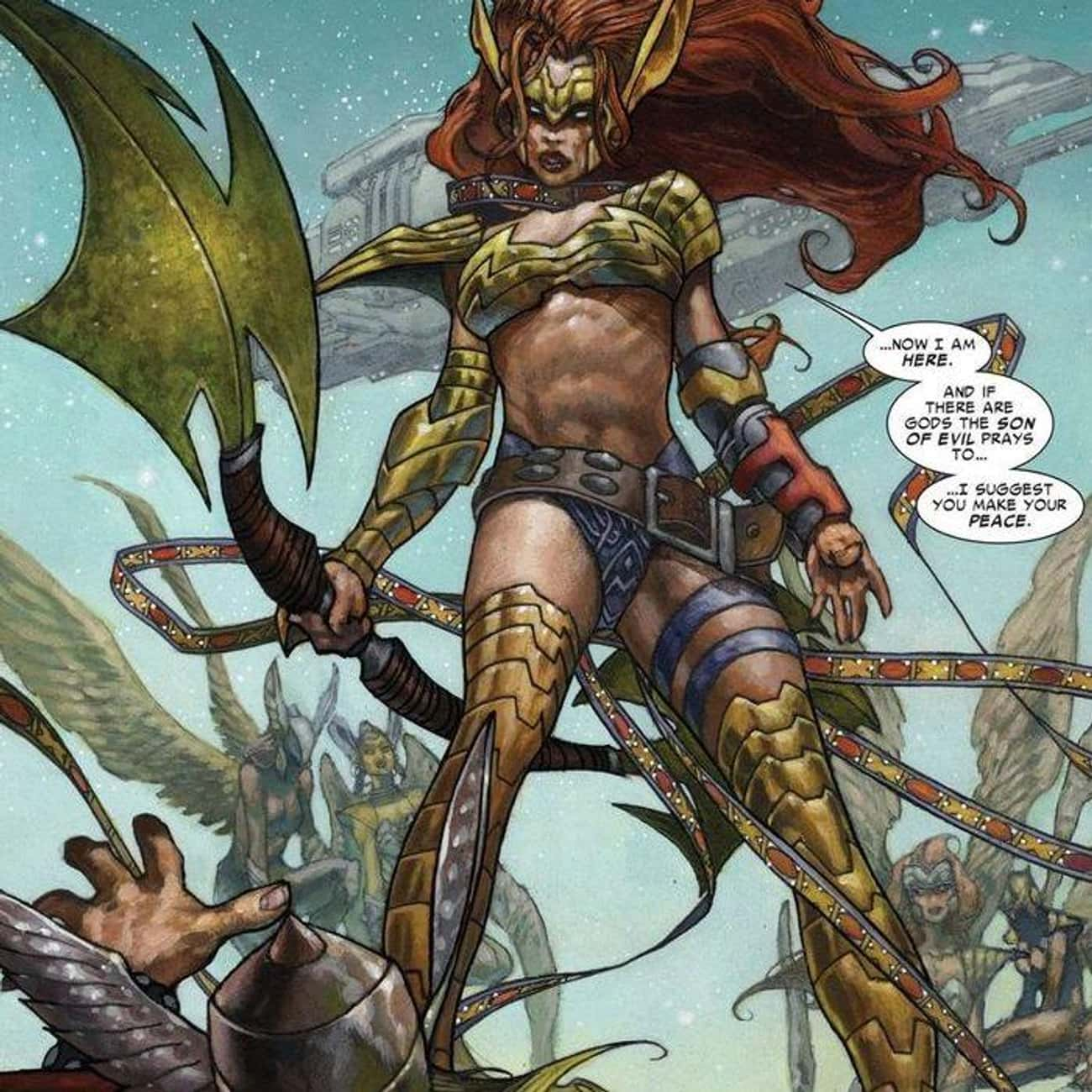 Angela, From Spawn, Turned Out is listed (or ranked) 2 on the list Why Thor's Comic Book Life Has Become Unrecognizable Over the Past Five Years