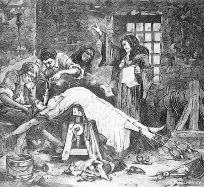 They Honed The Process Of Wate... is listed (or ranked) 2 on the list 10 Horrifyingly Cruel Torture Methods Used During The Spanish Inquisition