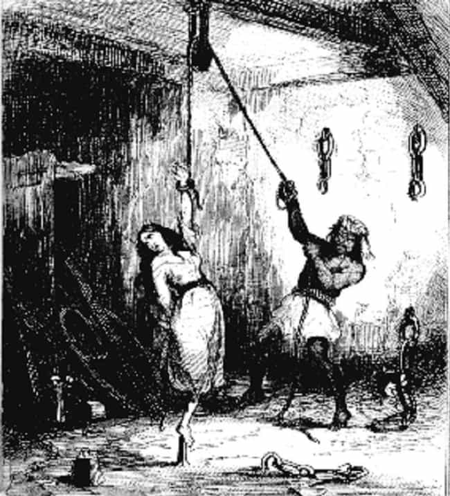 They Would Leave You Hanging W... is listed (or ranked) 4 on the list 10 Horrifyingly Cruel Torture Methods Used During The Spanish Inquisition