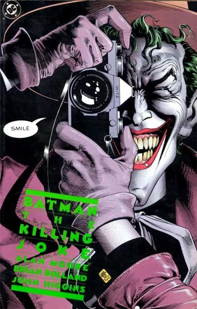 Batman: the Killing Joke... is listed (or ranked) 1 on the list The 100 Greatest Comic Book Covers of the 1980s