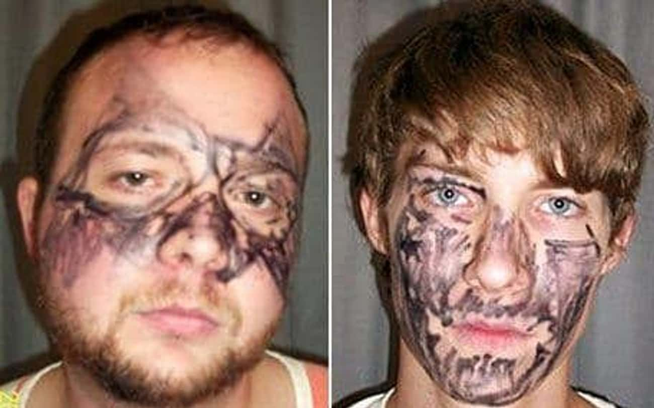 These Guys Covered Their Faces is listed (or ranked) 1 on the list The 9 Dumbest Disguises Criminals Have Actually Used