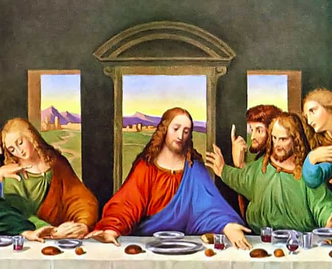 The Last Supper Predicts... is listed (or ranked) 2 on the list 13 Conspiracy Theories About Famous Paintings