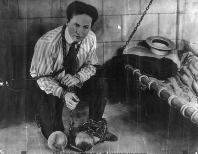 He Wrote a Book with Instructi... is listed (or ranked) 2 on the list 15 Tales of Supremely Fearless and Totally Bizarre Houdini Exploits