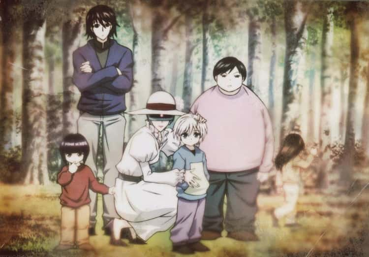 The Zoldyck Family from Hunter x Hunter