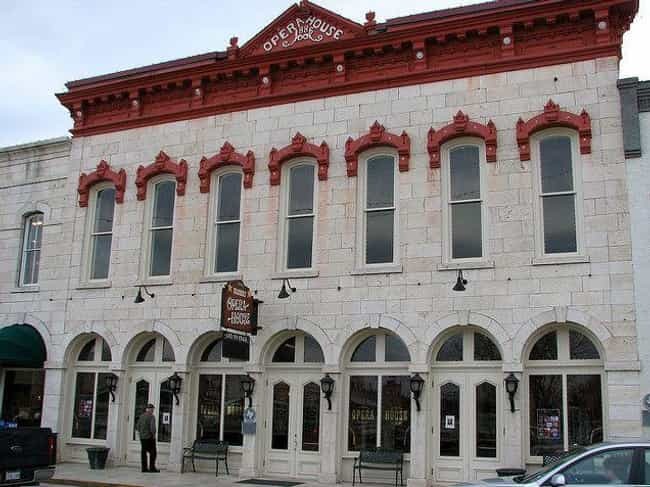 The Granbury Opera House is listed (or ranked) 1 on the list 14 Terrifying Haunted Theaters Across America