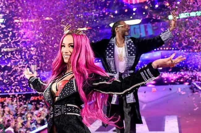 She And Snoop Dogg Are Cousins is listed (or ranked) 2 on the list 5 Things You Should Know About Sasha Banks