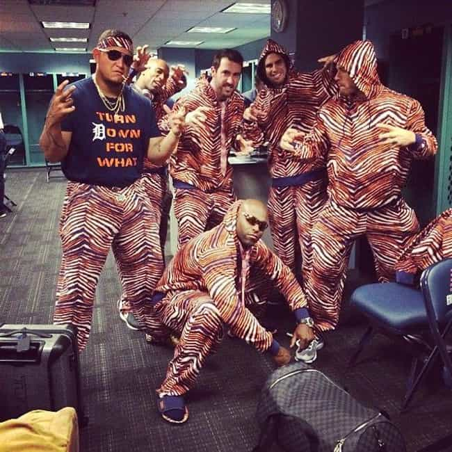Zubaz Pants is listed (or ranked) 1 on the list 12 Pieces of Clothing You Definitely Wore If You Were a Sports Fan in the '90s