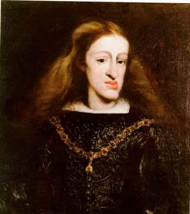Charles II The Bewitched Had A... is listed (or ranked) 1 on the list Royals Who Suffered From Hereditary Mutations And Defects Caused By Inbreeding