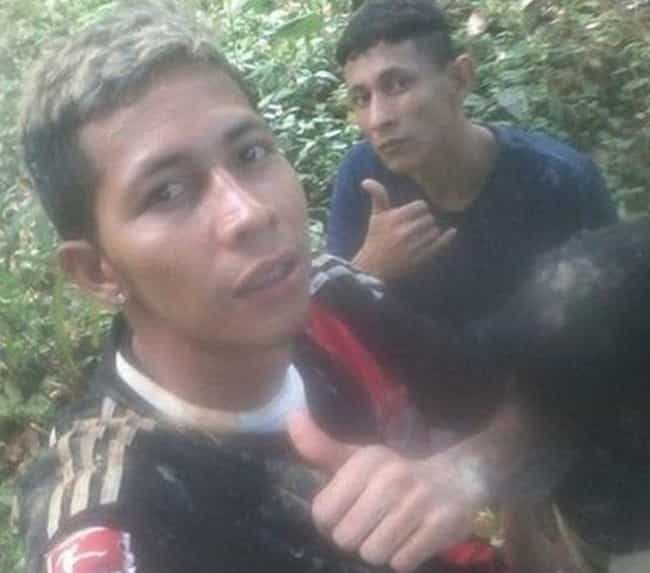 Brazil Fugitives Give Thumbs U... is listed (or ranked) 1 on the list Criminals Who Couldn't Help But Pause to Take a Selfie