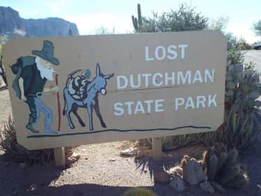 The Jesse Capen Disappearance is listed (or ranked) 2 on the list 12 People Who Vanished Looking For The Lost Dutchman Treasure