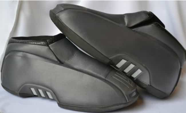 Adidas Kobe Two (2001) ... is listed (or ranked) 1 on the list The Ugliest Sneakers In NBA History