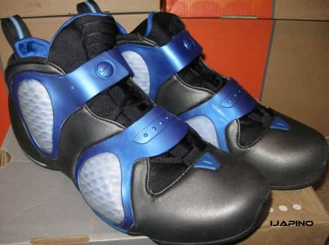Nike Flightposite III (2... is listed (or ranked) 3 on the list The Ugliest Sneakers In NBA History
