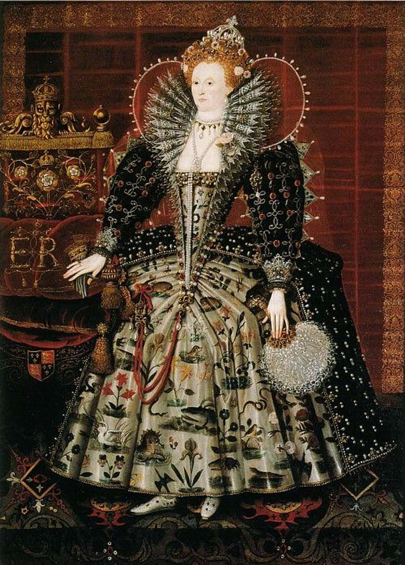 She Was Francis Bacon's Mother is listed (or ranked) 4 on the list 7 Thought-Provoking Historical Conspiracy Theories About Queen Elizabeth I