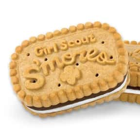 Girl Scout S'mores is listed (or ranked) 7 on the list The Most Delicious Girl Scout Cookies, Ranked