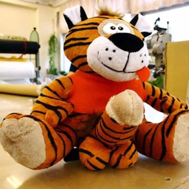 Wild Tiger is listed (or ranked) 3 on the list 24 Times Toys Totally Had Boners