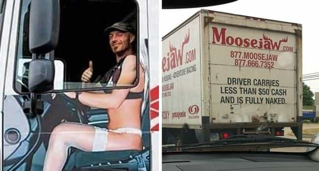 The Naked Truth is listed (or ranked) 2 on the list The 28 Funniest Trucker Signs Ever Spotted on the Open Road