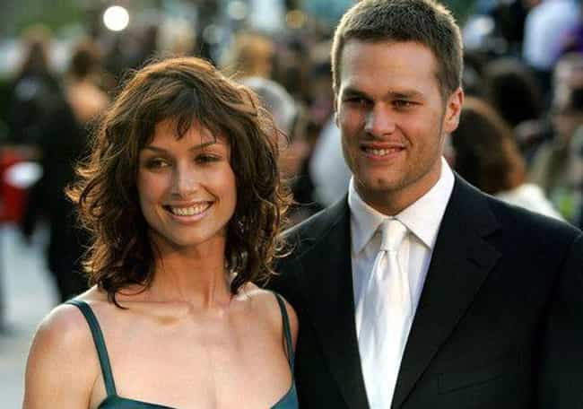 Bridget Moynahan & Tom Bra... is listed (or ranked) 2 on the list 14 Celebrities Who Broke Up While One Was Pregnant